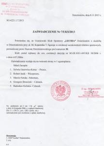 Zarząd UKS Lechia