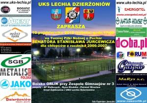 plakat turniej 10.10.2015