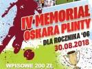 MEMORIAŁ OSKARA PLINTY